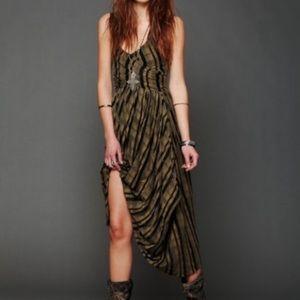 Free People New Romantics Waikiki Wrap Dress Chic